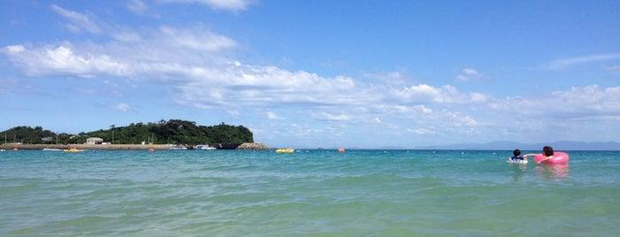 筒城浜海水浴場 is one of 日本の渚百選.