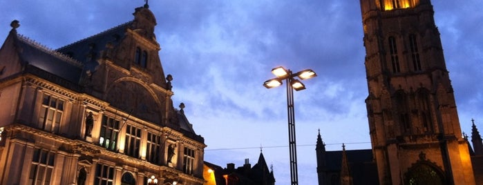 "Sint-Baafsplein is one of Belgium's ""unmissable"" culture spots."