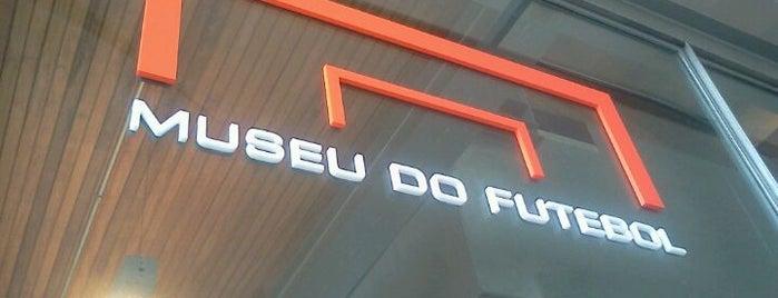 Museu do Futebol is one of Aqui na terra tão jogando futebol.