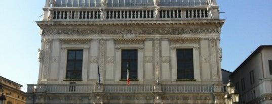 Piazza della Loggia is one of Brescia: discover the Lioness of Italy #4sqcities.