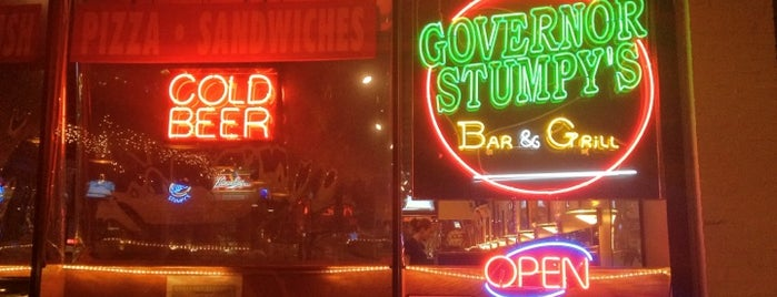 Governor Stumpy's is one of Food Worth Stopping For.