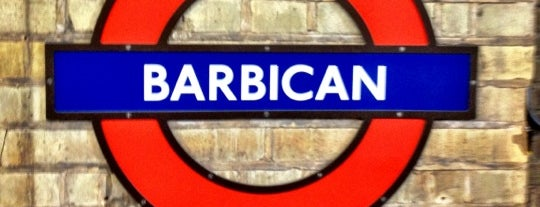 Barbican London Underground Station is one of kazahel: сохраненные места.