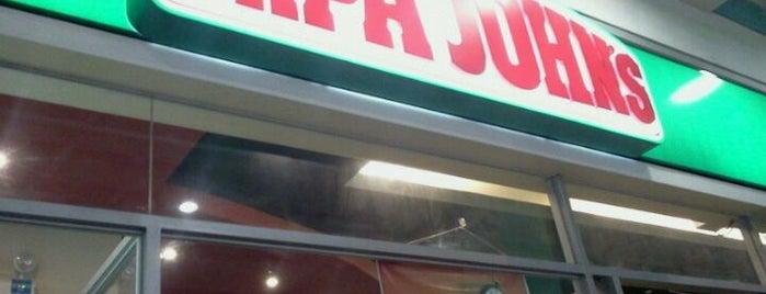 Papa John's is one of Orte, die Karen gefallen.