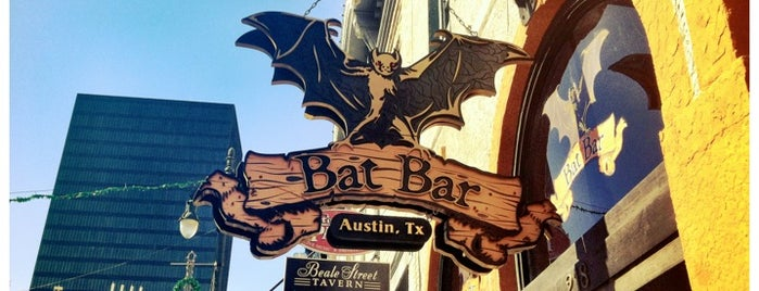 The Bat Bar is one of Austin x SXSW.