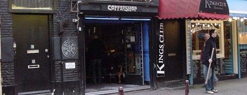 Bar/Coffeeshop De Rokerij is one of Amsterdam.