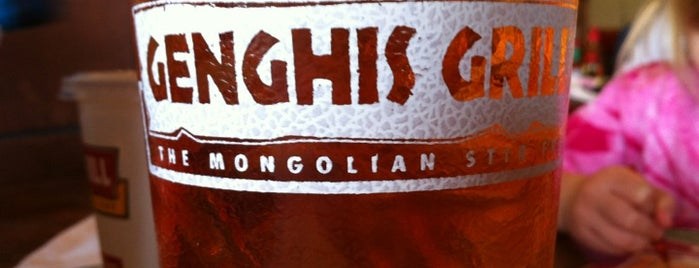 Genghis Grill is one of Charlotte To-do List.