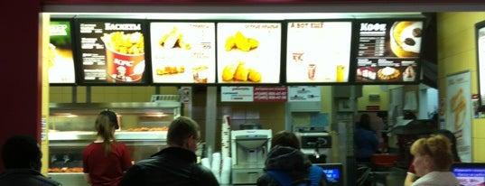 KFC is one of Sunny'un Beğendiği Mekanlar.