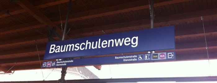 S Baumschulenweg is one of U & S Bahnen Berlin by. RayJay.