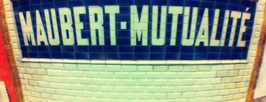 Métro Maubert–Mutualité [10] is one of Mouffetard et alentours.