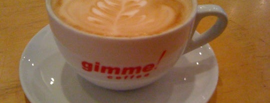 Gimme! Coffee is one of Locais curtidos por Eric Thomas.