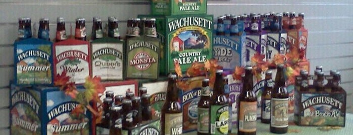 Wachusett Brewing Company is one of My Favorite Places.