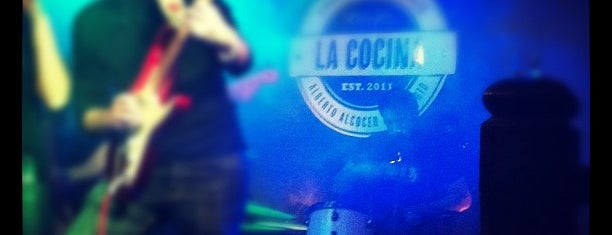 La Cocina RockBar is one of Llocs wapos.