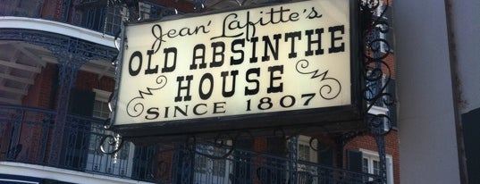 The Old Absinthe House is one of New Orleans Bars.