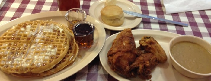 Roscoe's House of Chicken and Waffles is one of California Favorites.