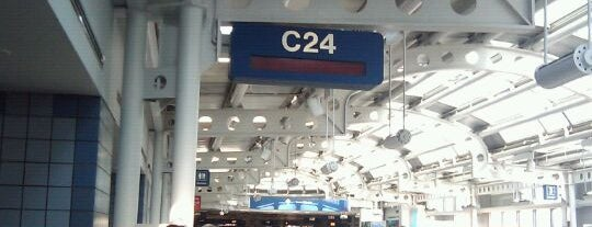 Gate C24 is one of Tempat yang Disukai Tim.