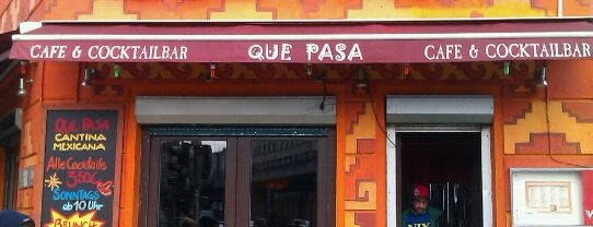 Que Pasa is one of Berlin.