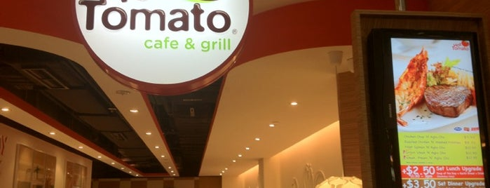 Hot Tomato Cafe & Grill is one of Veggie choices in Non-Vegetarian Restaurants.