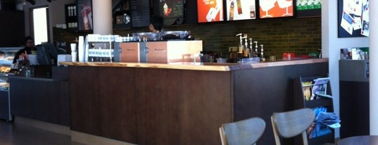 Starbucks is one of Favorite affordable date spots.