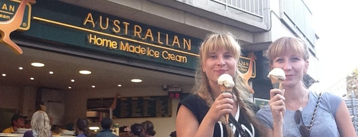 Australian Home Made Ice Cream is one of Lugares guardados de Australian Home Made Ice Cream.