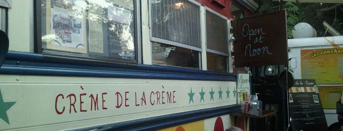 Creme De La Creme is one of food trucks.