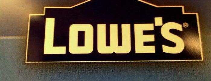 Lowe's is one of Repairs.