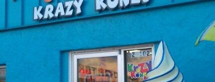 Krazy Kones is one of Mike 님이 좋아한 장소.