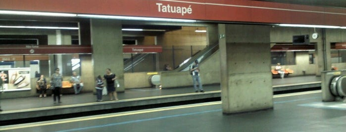 Estação Tatuapé (Metrô) is one of สถานที่ที่ M. ถูกใจ.