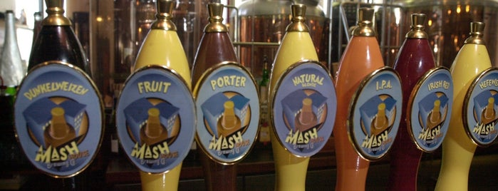 Mash House Chophouse & Brewery is one of Craft Beer & Breweries.