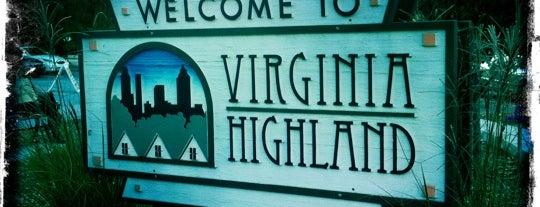 Virginia-Highland Neighborhood is one of Where, When & Who List-1!.