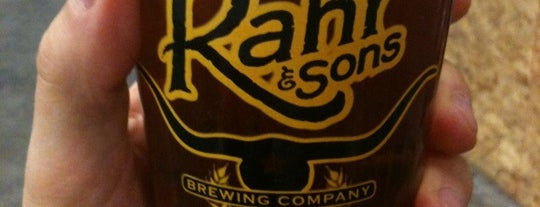 Rahr & Sons Brewing Co. is one of Texas breweries.