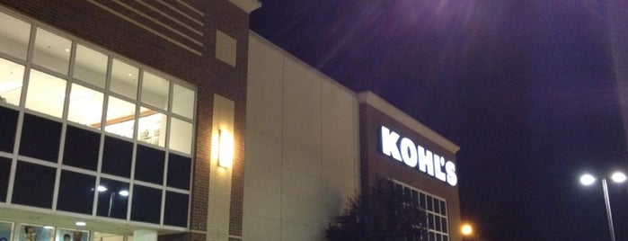 Kohl's is one of Places I want to Go.