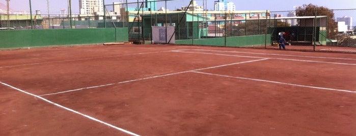 Club de Tenis Ferroviario is one of Locais salvos de Luis.