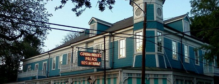Commander's Palace is one of Fabulous Places to Dine.