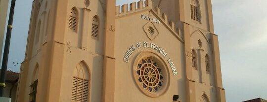 Church of St. Francis Xavier is one of Melaka.
