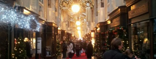 Burlington Arcade is one of London for New Yorkers [shop].