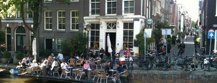 Café 't Smalle is one of Z☼nnige terrassen in Amsterdam❌❌❌.