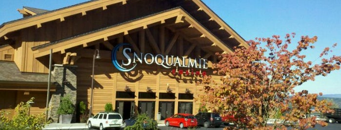 Snoqualmie Casino is one of Frank 님이 저장한 장소.