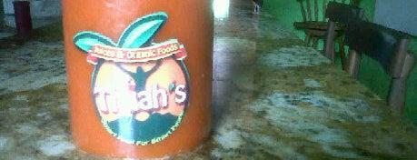 Thiiah's Juices & Organic Foods is one of Kingston Jamaica #4sqCities.