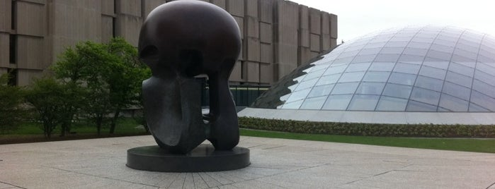 Nuclear Energy (Henry Moore sculpture) - Site of first controlled nuclear reaction is one of Famous Statues Around the World.