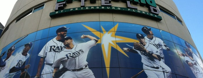 Tropicana Field is one of Sporting Venues....