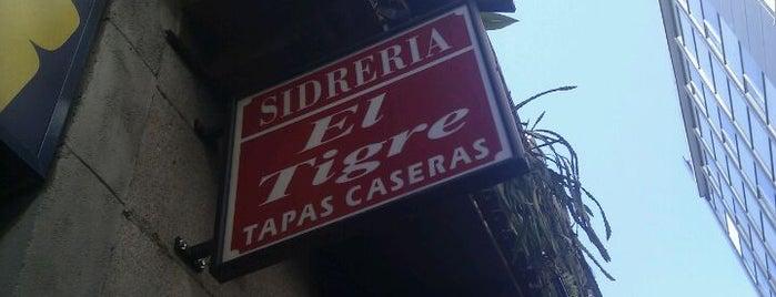 Sidrería El Tigre is one of Tapas.