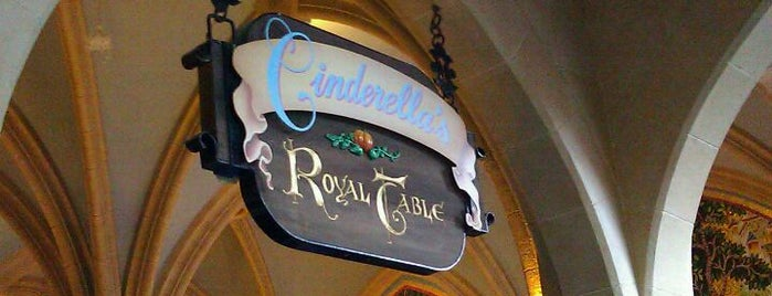 Cinderella's Royal Table is one of Favorite Eateries at Walt Disney World.