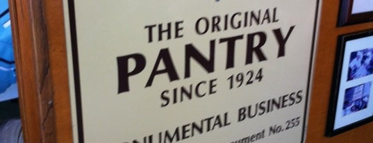 The Original Pantry is one of Burgers & more - So.Cal. edition.