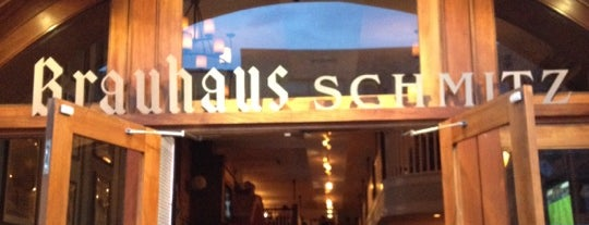 Brauhaus Schmitz is one of Philly.