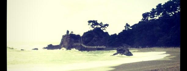 桂浜 is one of 日本の渚百選.