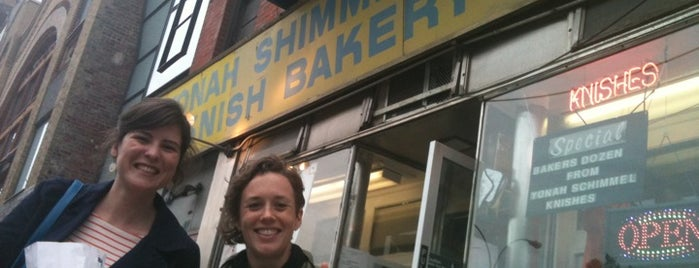 Yonah Schimmel Knish Bakery is one of New York Favorites.