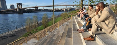 Brooklyn Bridge Park is one of NYC.