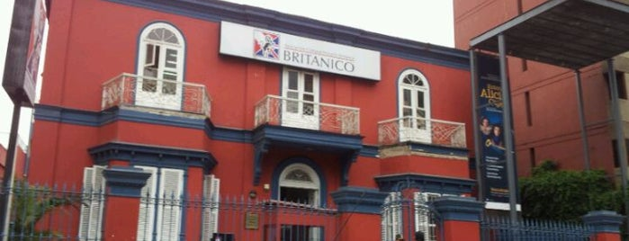 Centro Cultural Británico is one of Harto Arte Miraflores.