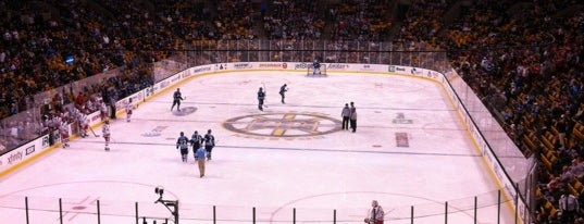 TD Garden is one of NHL Arenas 2013.
