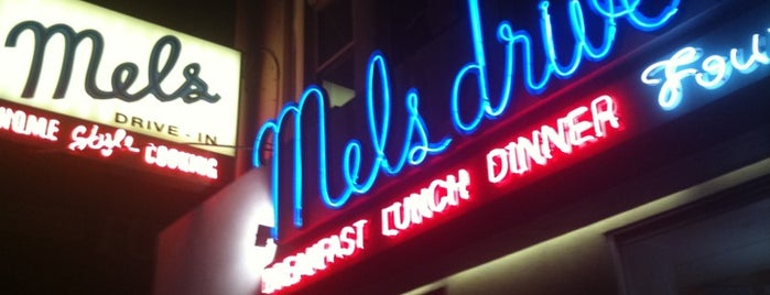 Mel's Drive-In is one of liver's best of SFO.